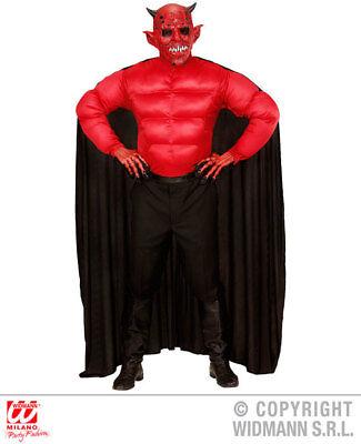 Mens Male Devil Deamon Fancy Dress Costume Halloween Outfit Adult