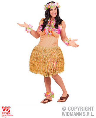 Mens Hawaiian Beauty Beach Party Stag Do Fancy Dress Costume Outfit Adult