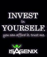 Invest in Isagenix for a healthier you! Lots of promos on now!