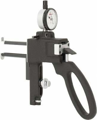 Starrett 38 To 6 Inch Measurement Steel Dial Indicator Groove Gage 0.0005 I...