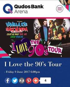 I love the 90's Tour - Private Suite Tickets ***CATERED*** Guildford West Parramatta Area Preview