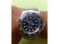 New rolex deepsea seadweller watch