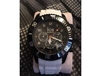Ice watch black and white unisex