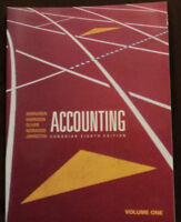 Accounting Canadian Eighth Edition