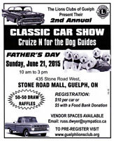 LIons Clubs of Guelph Fathers Day Car show