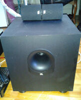 Subwoofer JBL with 2 speakers -