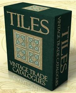TILES 41 Vintage Trade Catalogues & Books on DVD Tiling, Mosaic, Ceramic Tiles