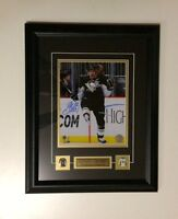 Sidney Crosby Pittsburg Penguins Auto Framed