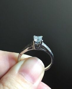 Amazing size 7 Engagement ring, never used as that.