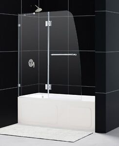 SHOWER GLASS FOR TUB