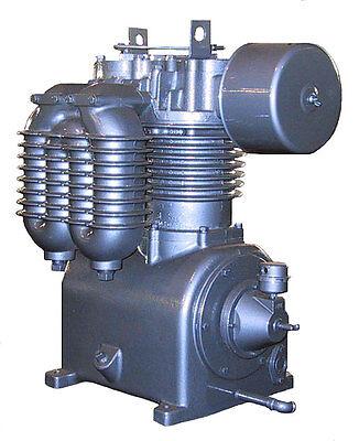 4500 Saylor Beall Usa Made Splash Lubricated Two Stage Air Compressor Bare Pump