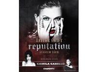 Taylor Swift Reputation Tour Wembley Stadium Block C2 Row BB FACE VALUE