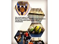 Futsal (indoor football)5 a side players wanted for river lea futsal club