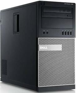 Ordinateur super puissant rapide DELL Optiplex 790 Core i7 4 coeurs HT 8 coeurs virtuels, memoire 8.0 Gb DDR3, peut etre