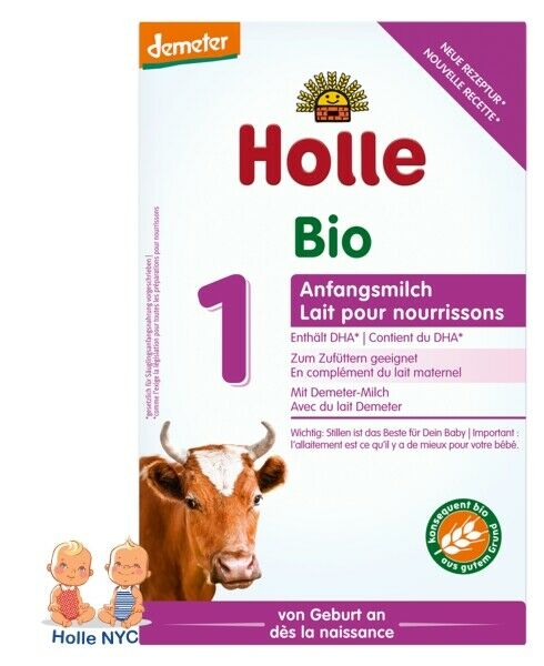 Holle Stage 1 Organic Infant Formula with DHA 400g Free Shipping