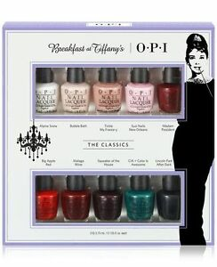 Opi Breakfast At Tiffany S 10pc Mini Nail Polish Collection Gift Set
