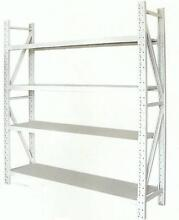 800KG 4 SHELF WAREHOUSE STEEL STORAGE SHELVING -  GENUINE LOAD Wetherill Park Fairfield Area Preview