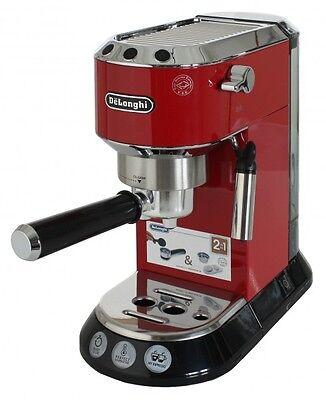 DeLonghi EC680.R Dedica Siebträger Espressomaschine Rot
