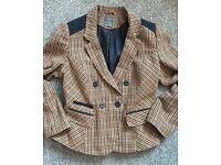 Primark tweed jacket size 16