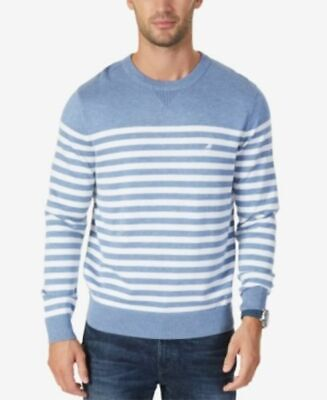 Nautica Men's Classic-Fit Breton Striped Pullover Sweater, Size XL, ZR-Z