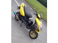 Lexmoto flash 50cc moped road legal