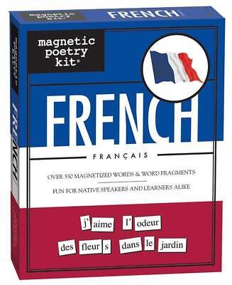 Magnetic Poetry Französisch Erwachsene Kreativ Lernen KÜHLSCHRANKMAGNET (Kühlschrank-magnete Lernen)