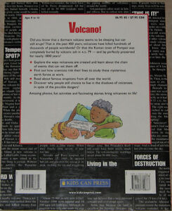 Volcano! Soft Cover Kids Book London Ontario image 2