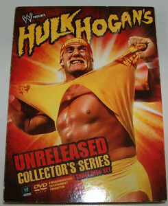WE Hulk Hogan's Unreleased Collector's Series DVD Set