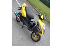 Lexmoto 50cc flash moped not Honda Yamaha or Peugeot