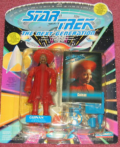 Star Trek: The Next Generation - Guinan figure NEW in package