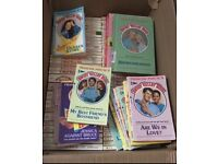 Massive collection of Francine Pascal's Sweet Valley High Books