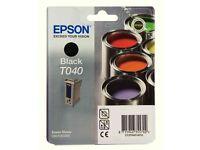 Epson Black ink cartridge T040
