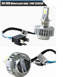 H4 LED Motorcycle Headlights High Power