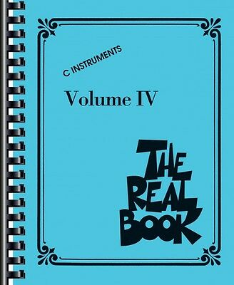 The Real Book Volume IV Sheet Music C Edition Real Book Fake Book NEW 000240296 on Rummage