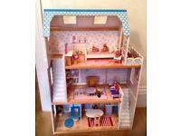 ELC Dolls House Mansion, Furniture & Figures