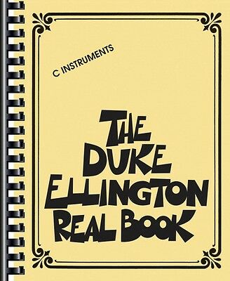The Duke Ellington Real Book Sheet Music C Edition Real Book Fake Book 000240235 Duke Ellington Music Book