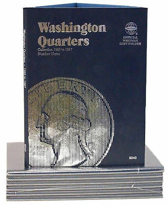 New Whitman Album Washington Quarters  vol #3 1965-1987  Coin Folder Book #9040