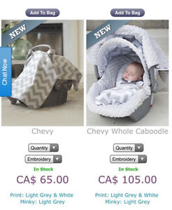 NEW, Canopy and cover for car seat