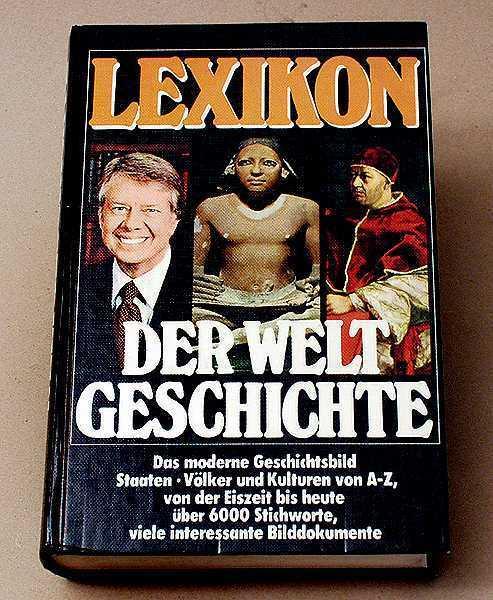 +++LEXIKON DER WELT GESCHICHTE-von der Eiszeit bis heute - 1977 + in Nürnberg - Nordstadt