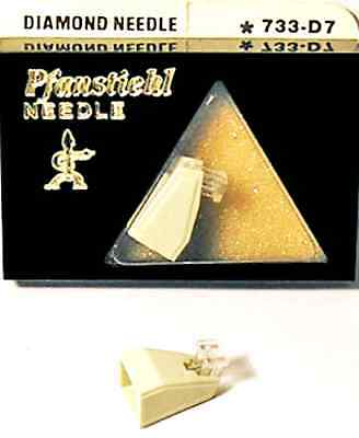 Used, TURNTABLE NEEDLE for Sanyo Fisher ST-37D MG-37D 371D 47D Aiwa AN60 PNK65 733-D7 for sale  Beverly