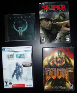 Lot of 4 PC Games Kitchener / Waterloo Kitchener Area image 1