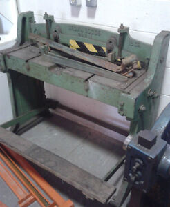 Brown Boggs 36 Quot X 18ga Sheet Metal Shear Other Bedford