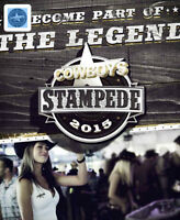 4 Tickets - Cowboys Stampede Tent First Friday of Stampede Party