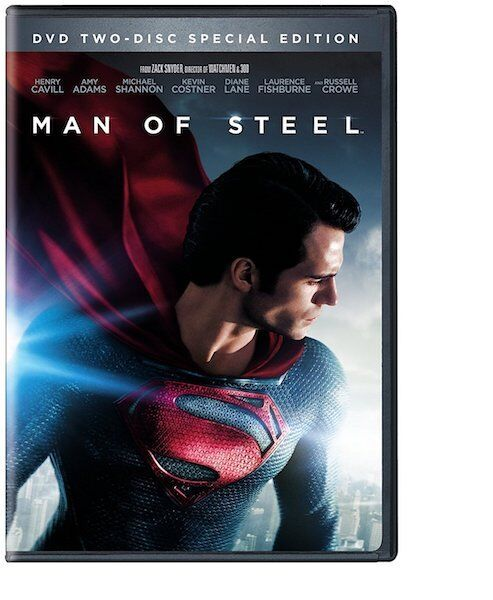 Man of Steel (2 DVD Set, WS, Special Edition; Includes Digital Copy NEW
