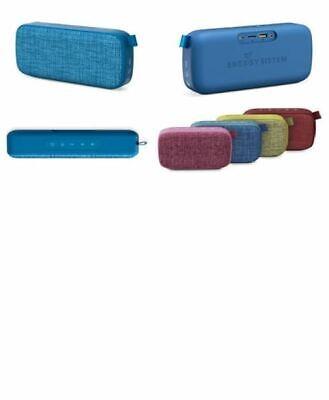 altavoces para smartphone/tablet Energy Sistem fabric box 3+ trend blueberry
