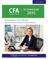 2015 CFA Level 1 SCHWESER, Secret Sauce, Videos, Formula sheet