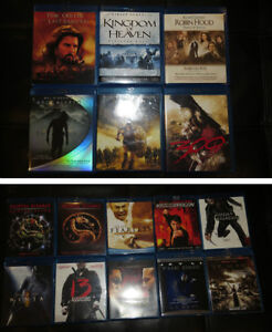 Collection de films Blu Ray / Blu ray movie collection West Island Greater Montréal image 3