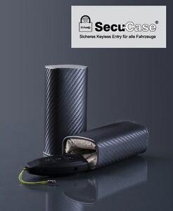 Autoschlüsselbox SECU-Case plus Schlüsselgarage Schutzhülle Keyless Entry u. GO