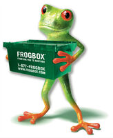 Frogbox moving boxes and supplies