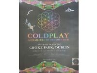 2 x Seating tickets Coldplay Croke Park 08/07/2017 £150 each